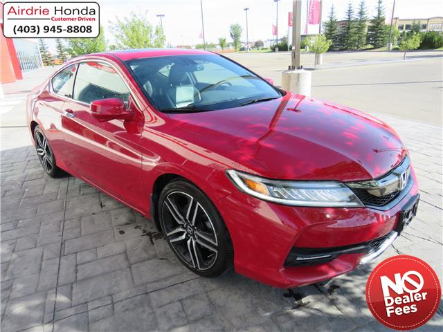 2016 Honda Accord Touring (Stk: U1699) in Airdrie - Image 1 of 36