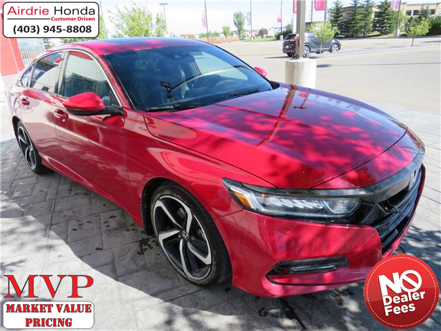 2018 Honda Accord Sport 2.0T (Stk: 200407A) in Airdrie - Image 1 of 8