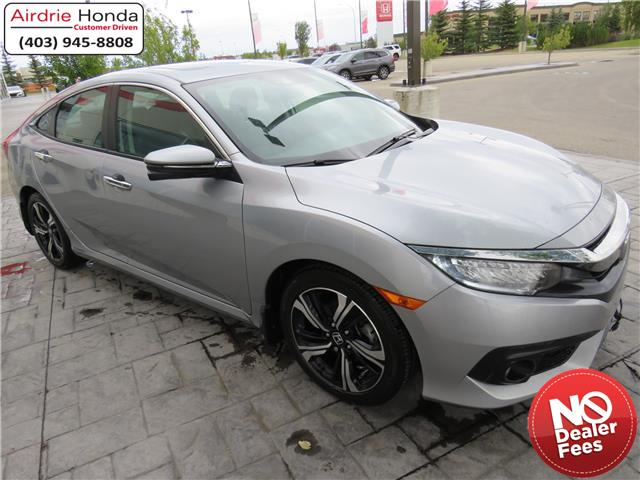 2018 Honda Civic Touring (Stk: 200311A) in Airdrie - Image 1 of 8