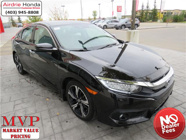 2016 Honda Civic Touring (Stk: U1707) in Airdrie - Image 1 of 8