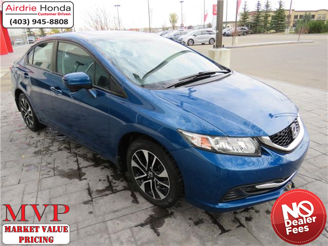 2015 Honda Civic EX (Stk: 206487A) in Airdrie - Image 1 of 8