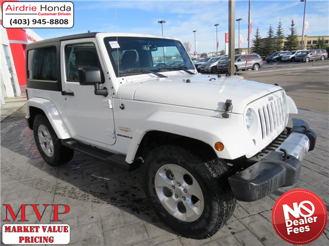 2015 Jeep Wrangler Sahara (Stk: 200514A) in Airdrie - Image 1 of 29