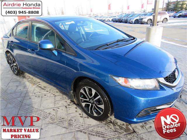 2013 Honda Civic EX (Stk: 200499A) in Airdrie - Image 1 of 8