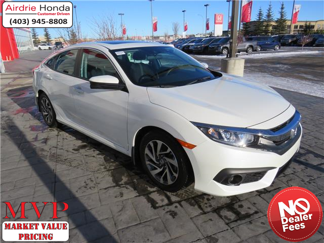 2017 Honda Civic EX (Stk: 200498A) in Airdrie - Image 1 of 8