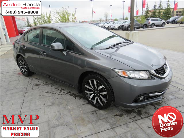 2013 Honda Civic Touring (Stk: 210117A) in Airdrie - Image 1 of 8