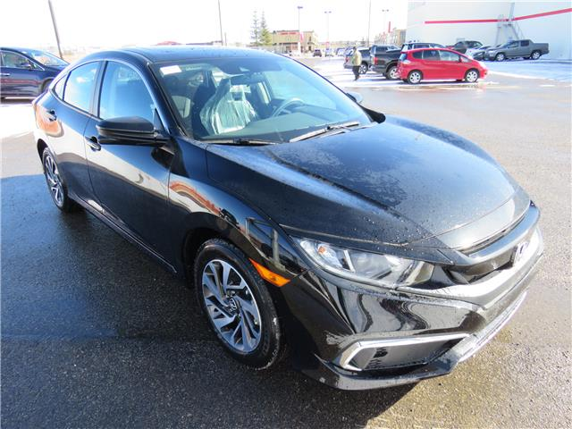 2020 Honda Civic EX (Stk: 200220) in Airdrie - Image 1 of 8