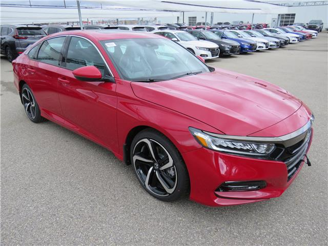 2020 Honda Accord Sport 1.5T (Stk: 200163) in Airdrie - Image 1 of 7