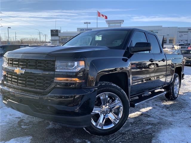 2019 Chevrolet Silverado 1500 LD Silverado Custom (Stk: K1175373) in Calgary - Image 1 of 21