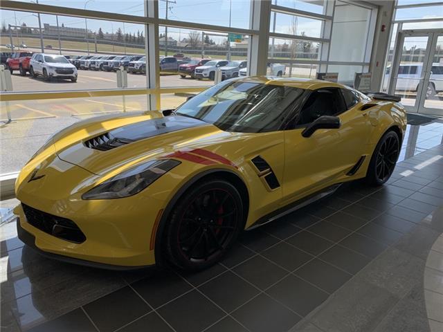 2019 Chevrolet Corvette Grand Sport (Stk: K5118383) in Calgary - Image 1 of 10