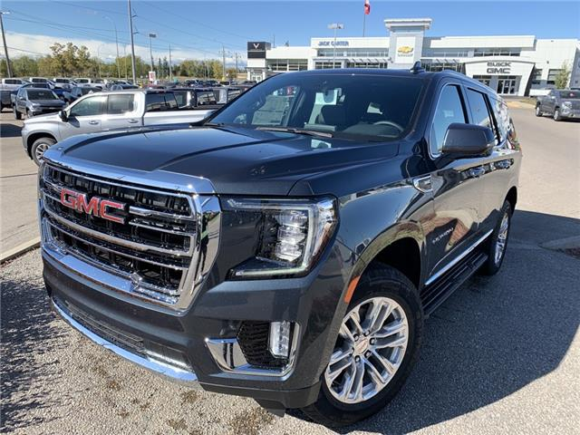2021 GMC Yukon SLT (Stk: MR145651) in Calgary - Image 1 of 30