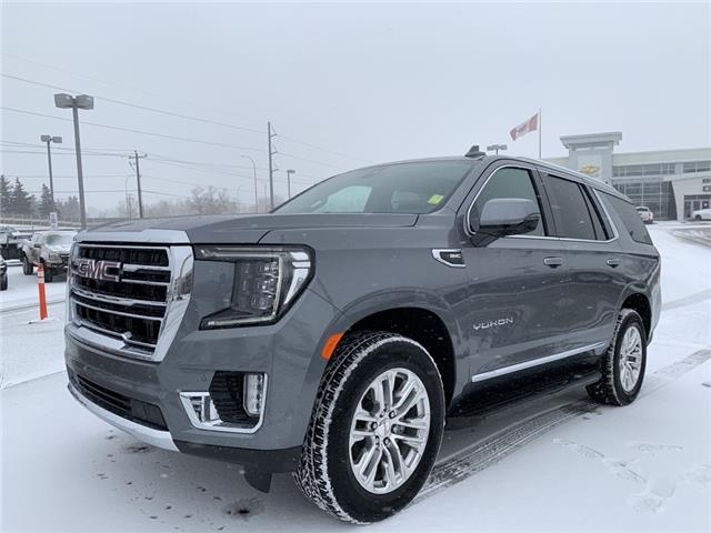 2021 GMC Yukon SLT (Stk: MR131827) in Calgary - Image 1 of 30