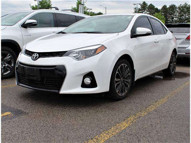 2016 Toyota Corolla S (Stk: 301087S) in Markham - Image 1 of 1