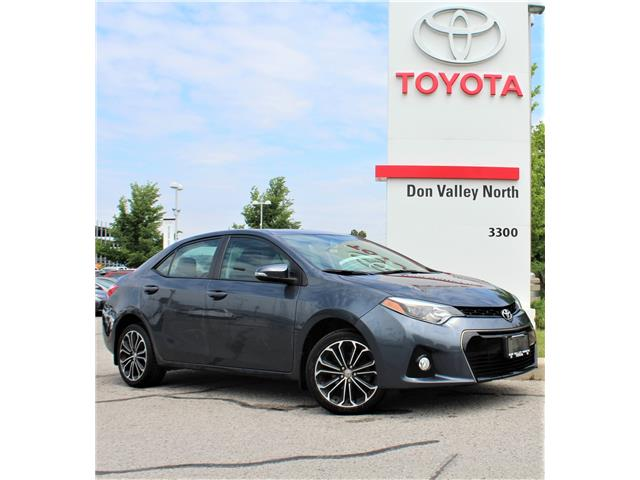 2016 Toyota Corolla S (Stk: 301117S) in Markham - Image 1 of 1