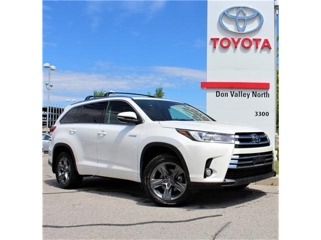 2017 Toyota Highlander Hybrid Limited (Stk: 301119S) in Markham - Image 1 of 1