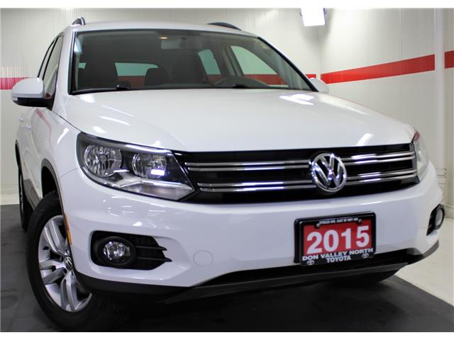 2015 Volkswagen Tiguan Trendline (Stk: 301302S) in Markham - Image 1 of 24