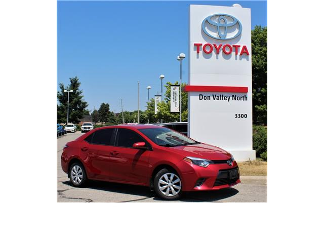2015 Toyota Corolla LE (Stk: 301467S) in Markham - Image 1 of 1
