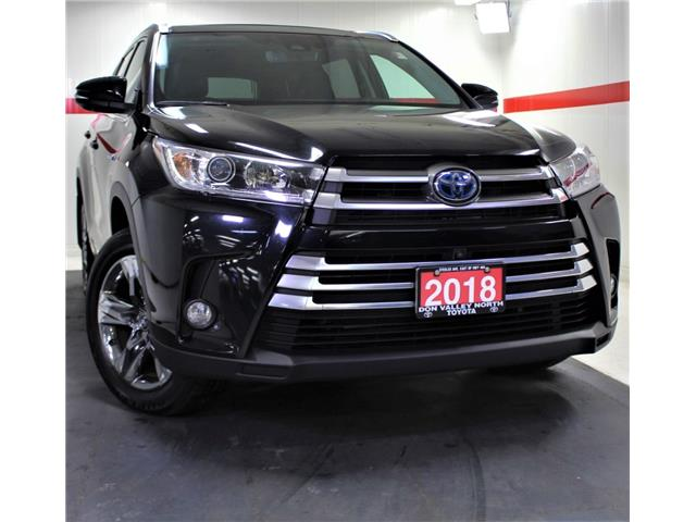 2018 Toyota Highlander Hybrid Limited (Stk: 302027S) in Markham - Image 1 of 31