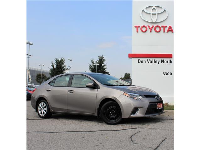 2016 Toyota Corolla LE (Stk: ) in Markham - Image 1 of 1