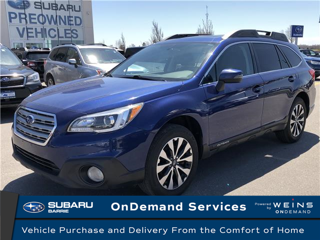 2016 Subaru Outback 2.5i Limited Package (Stk: SUB1627) in Innisfil - Image 1 of 22