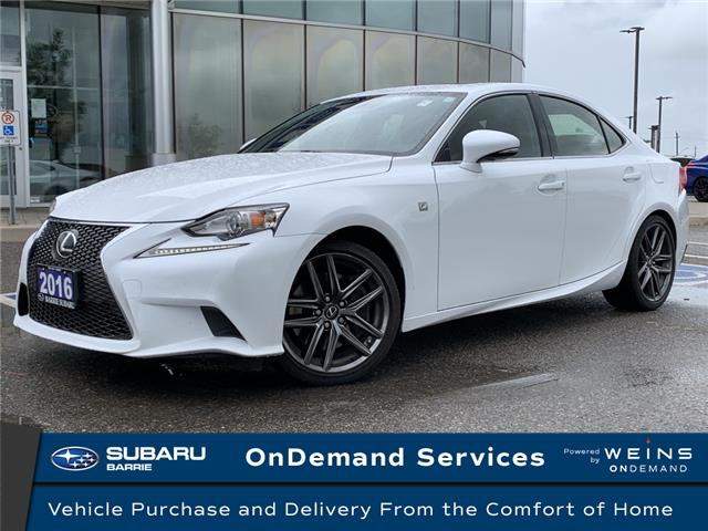 2016 Lexus IS 200t Base (Stk: 20SB535A) in Innisfil - Image 1 of 8