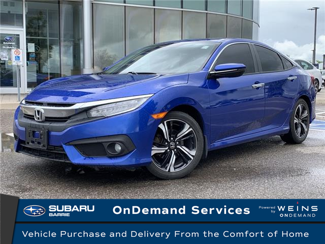 2016 Honda Civic Touring (Stk: 20SB423A) in Innisfil - Image 1 of 23