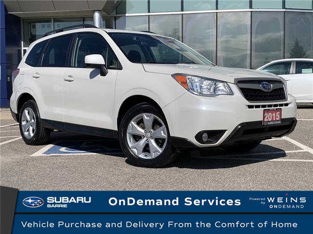 2015 Subaru Forester 2.5i Touring Package (Stk: 20SB045A) in Innisfil - Image 1 of 22