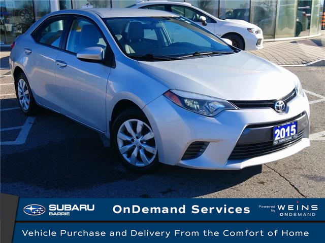 2015 Toyota Corolla LE (Stk: 21SB042A) in Innisfil - Image 1 of 12