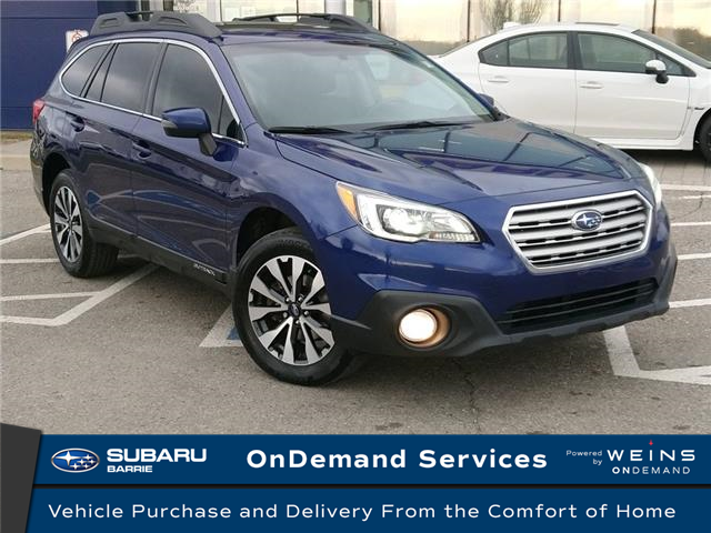 2017 Subaru Outback 2.5i Limited (Stk: 20SB593A) in Innisfil - Image 1 of 18