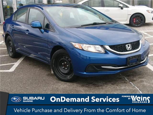 2013 Honda Civic EX (Stk: 21SB155A) in Innisfil - Image 1 of 14