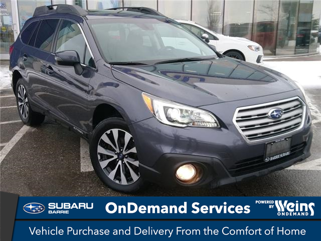 2017 Subaru Outback 2.5i Limited (Stk: SUB1732RA) in Innisfil - Image 1 of 13