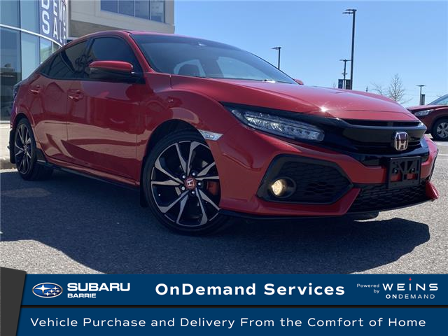 2019 Honda Civic Sport Touring (Stk: 201125A) in Innisfil - Image 1 of 15