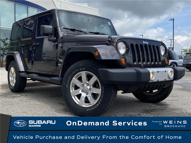 2013 Jeep Wrangler Unlimited Sahara (Stk: 201123A) in Innisfil - Image 1 of 8
