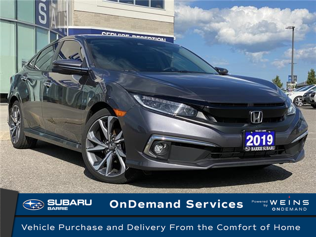 2019 Honda Civic Touring (Stk: 201337A) in Innisfil - Image 1 of 9