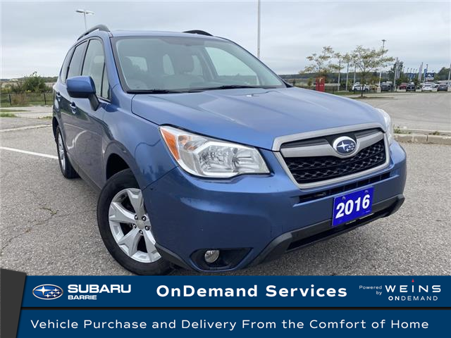 2016 Subaru Forester 2.5i Touring Package (Stk: 201349A) in Innisfil - Image 1 of 12