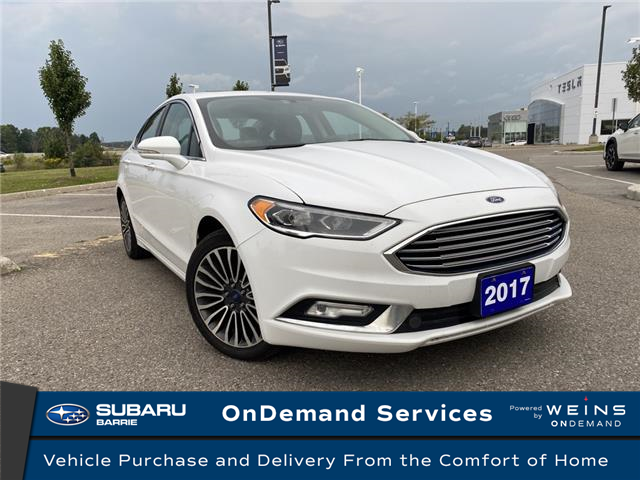 2017 Ford Fusion SE (Stk: 21SB212A) in Innisfil - Image 1 of 11