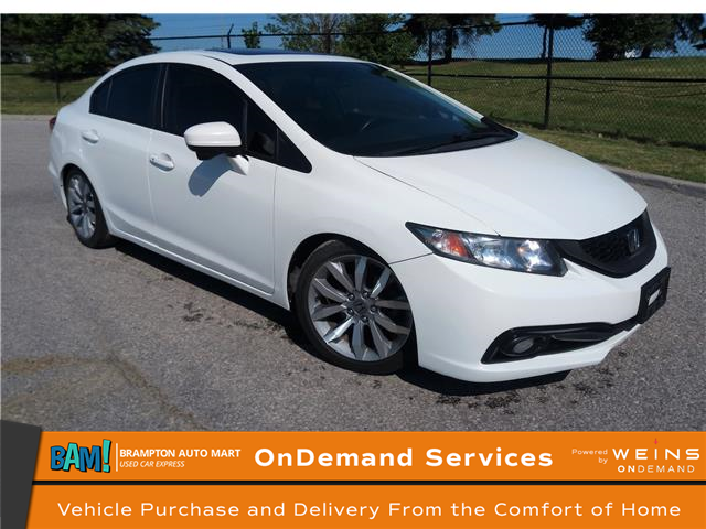 2014 Honda Civic Touring (Stk: 2255BP) in Brampton - Image 1 of 18