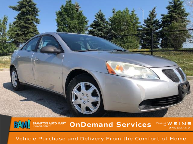 2008 Pontiac G6 SE (Stk: 2285BP) in Brampton - Image 1 of 9