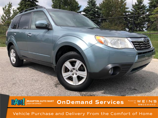 2010 Subaru Forester 2.5 X (Stk: 2502B9) in Brampton - Image 1 of 13