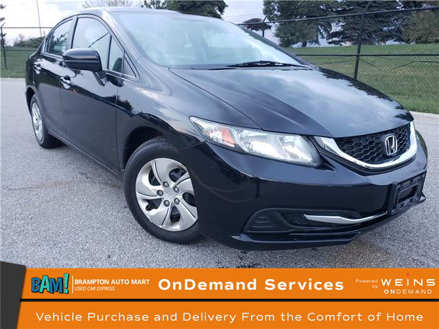 2015 Honda Civic LX (Stk: 2468BPH) in Brampton - Image 1 of 17