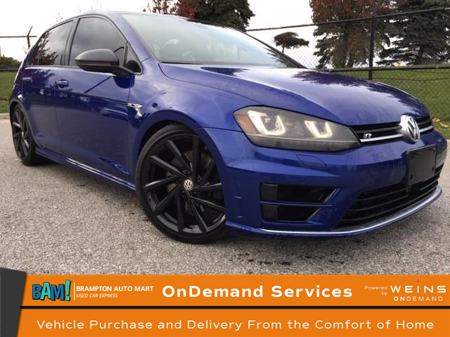 2017 Volkswagen Golf R 2.0 TSI (Stk: 2683BP) in Brampton - Image 1 of 14