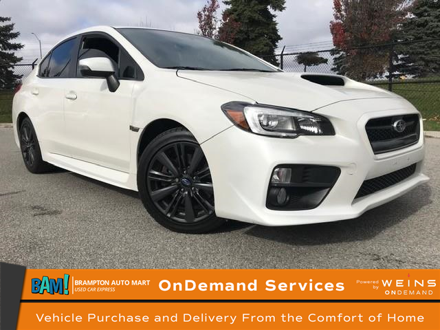 2016 Subaru WRX Sport Package (Stk: 2655B12) in Brampton - Image 1 of 17