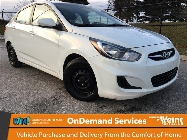 2013 Hyundai Accent GLS (Stk: 2961B7) in Brampton - Image 1 of 11