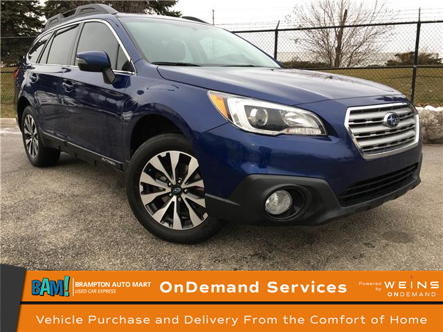 2017 Subaru Outback 2.5i Limited (Stk: 3031B9) in Brampton - Image 1 of 19