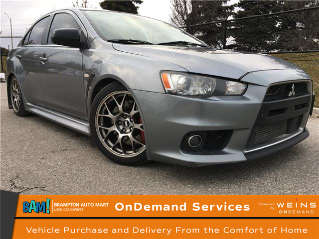 2012 Mitsubishi Lancer Evolution MR (Stk: 3040B1) in Brampton - Image 1 of 12