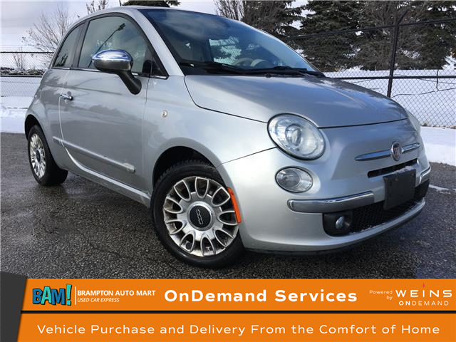 2012 Fiat 500 Lounge (Stk: 3053B5) in Brampton - Image 1 of 16