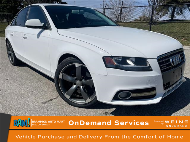 2012 Audi A4 2.0T (Stk: 3294B3) in Brampton - Image 1 of 15