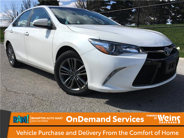2016 Toyota Camry SE (Stk: 3394BH2) in Brampton - Image 1 of 8