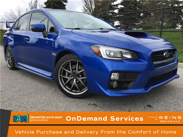 2016 Subaru WRX STI Sport-tech Package (Stk: 3435B12) in Brampton - Image 1 of 20