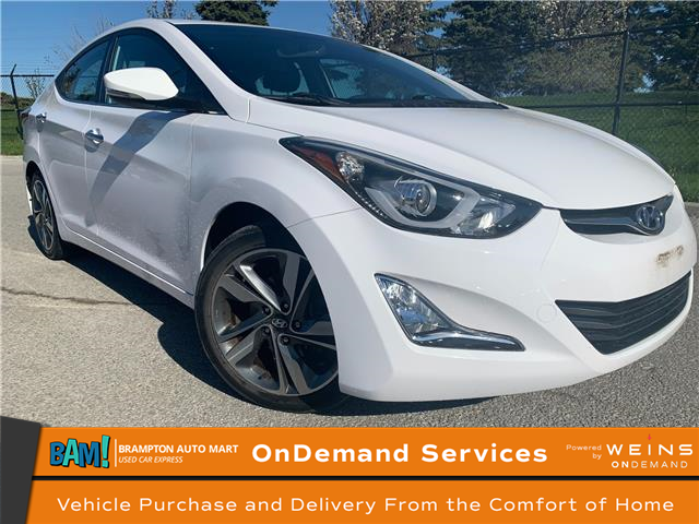 2014 Hyundai Elantra Limited (Stk: 3455B4) in Brampton - Image 1 of 18