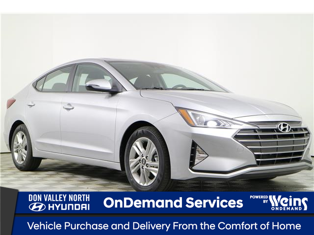 2020 Hyundai Elantra Preferred w/Sun & Safety Package (Stk: 195081) in Markham - Image 1 of 22